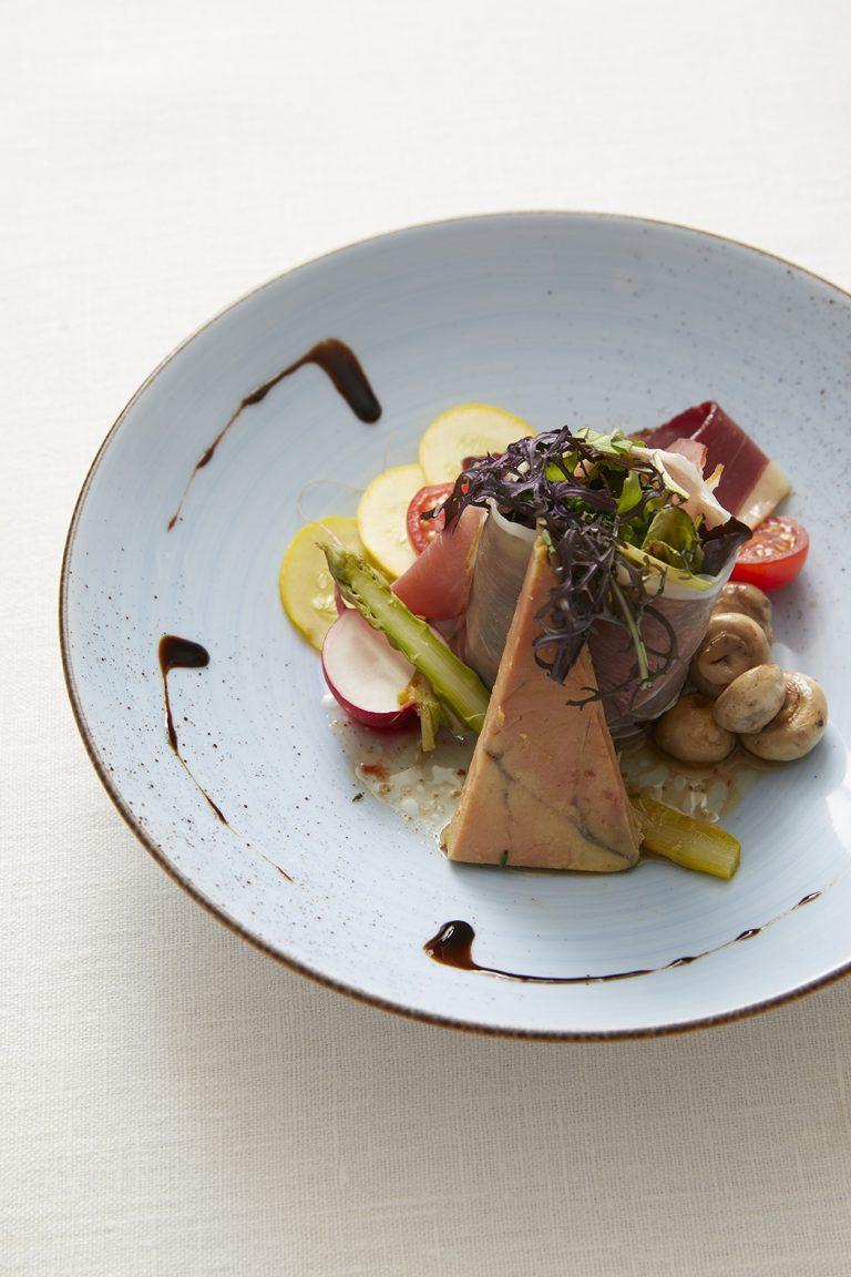 Plat restaurant Le Bellevue